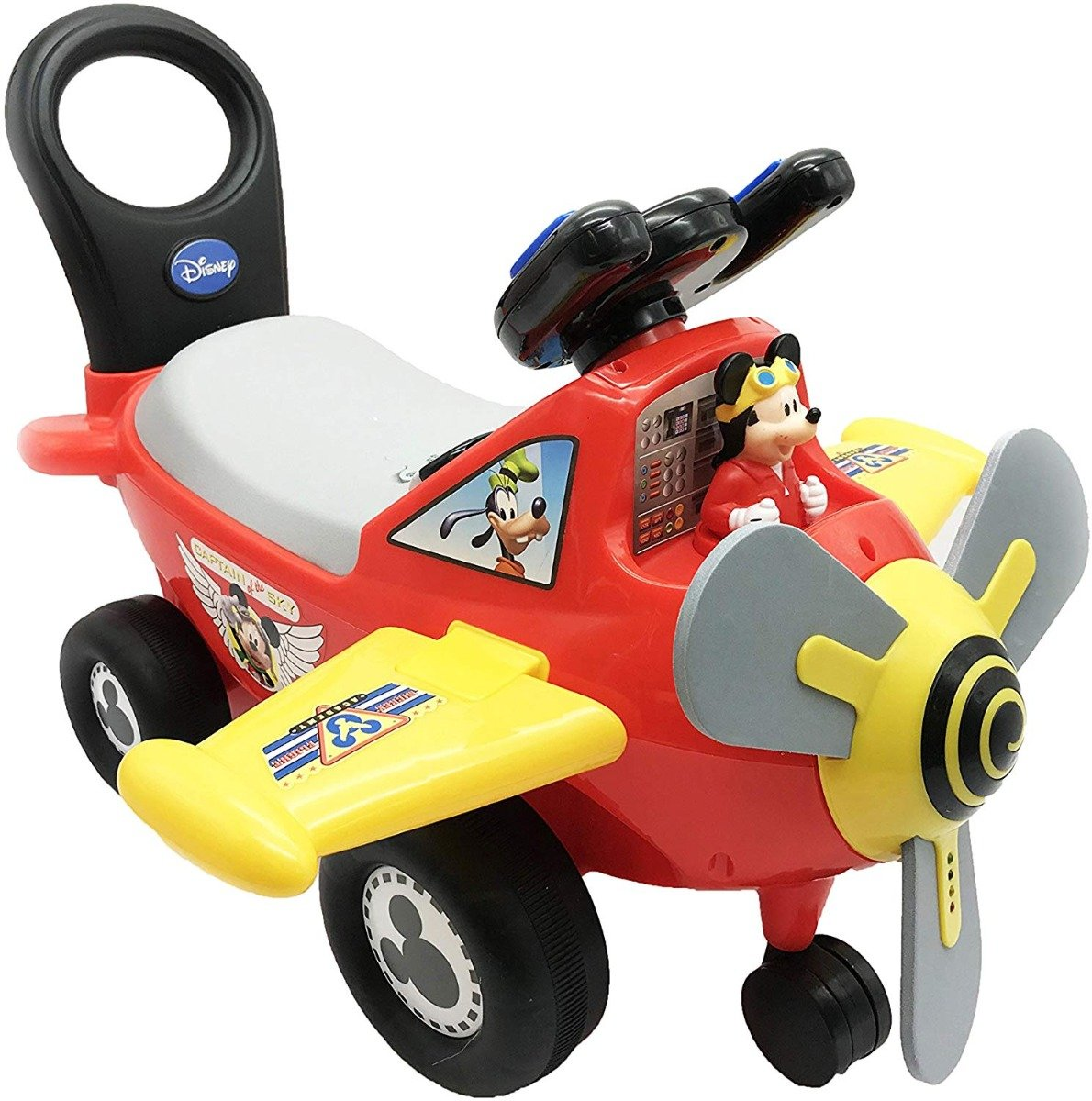 Masinuta fara pedale Kiddieland - Primul meu avion Mickey Mouse imagine
