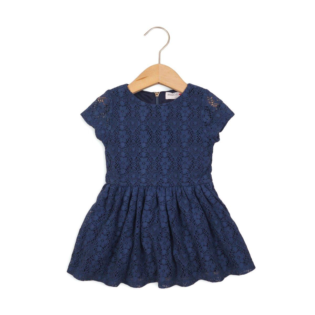 rochie din dantela cu fermoar minoti french