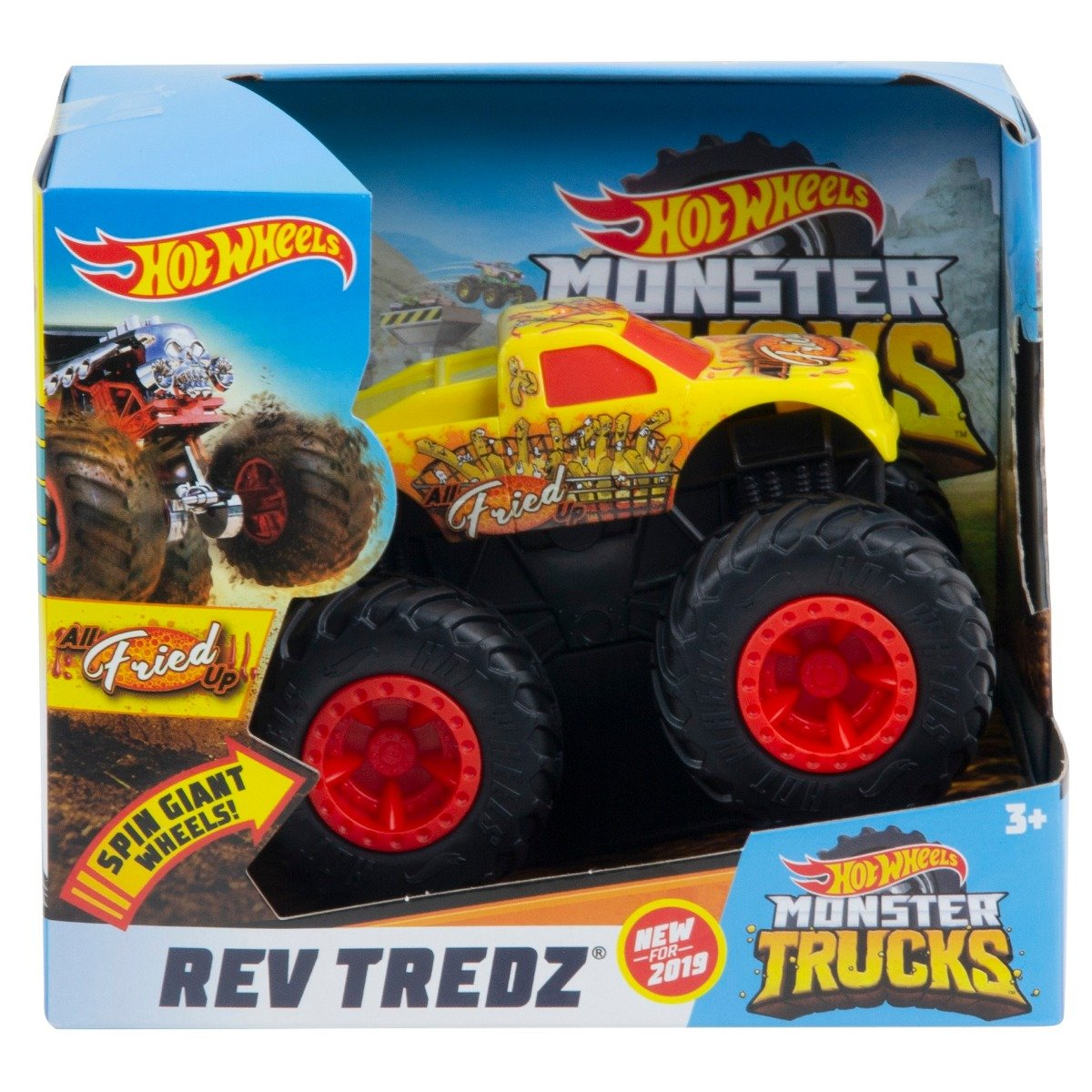 Masinuta Hot Wheels Rev Tredz, All Fried Up GBV17