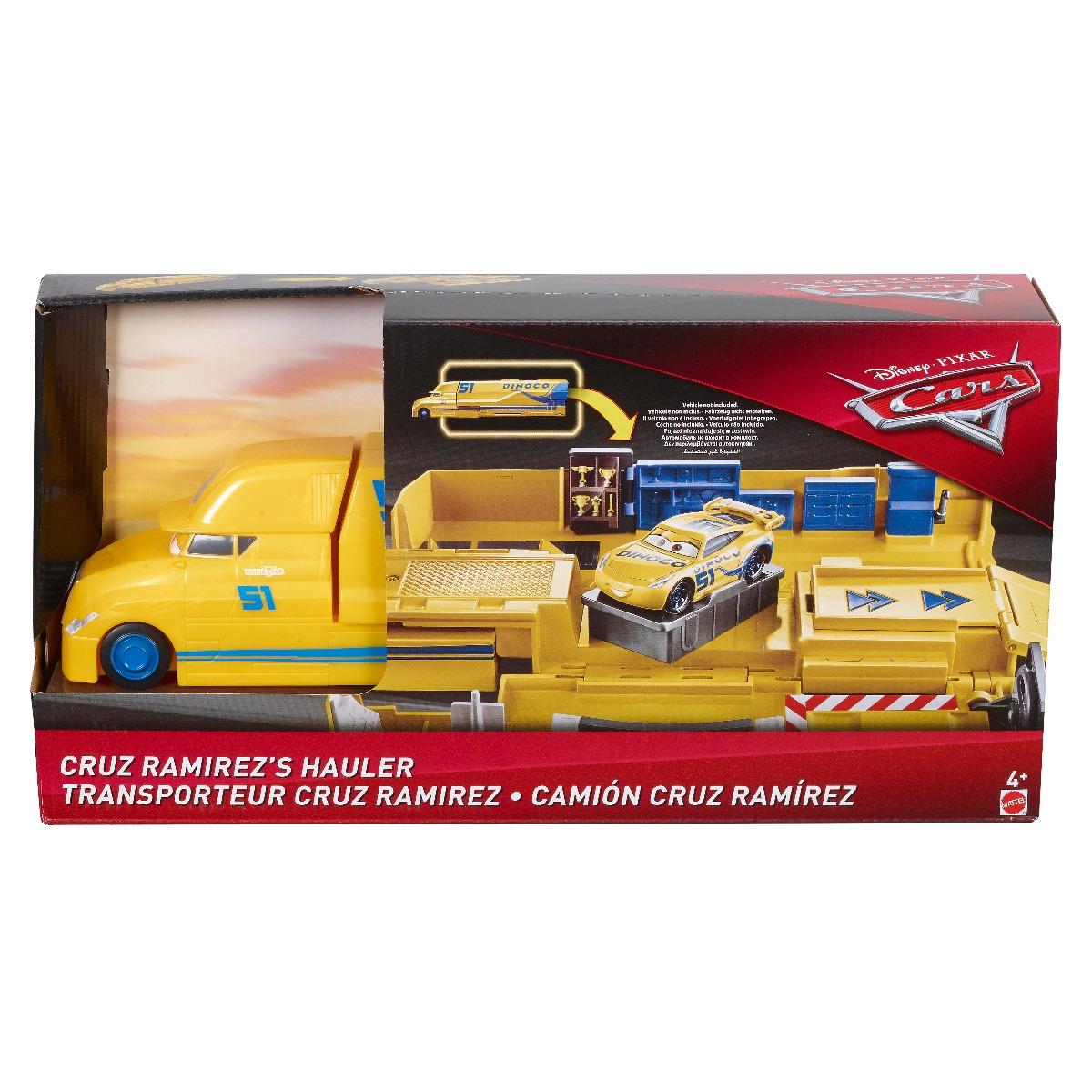 Set de joaca Mega Transportatorul Disney Cars, Cruz Ramirez FLK11