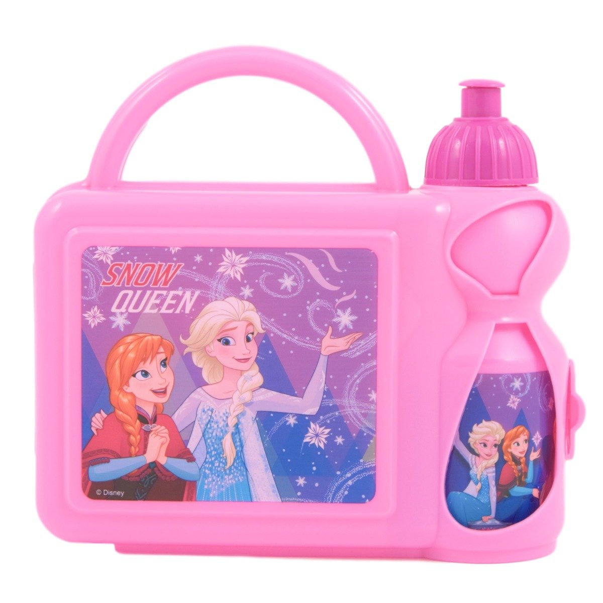 Set combo cu gentuta si sticla apa Disney Frozen