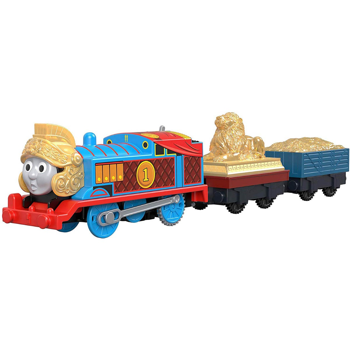 Locomotiva motorizata cu 2 vagoane Thomas and Friends, Armored Thomas (GDV31)