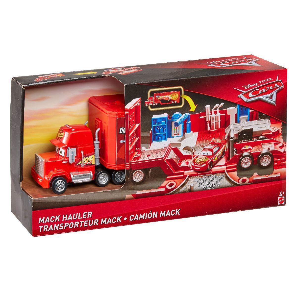Set de joaca Mega Transportatorul Disney Cars, Mack FTT93