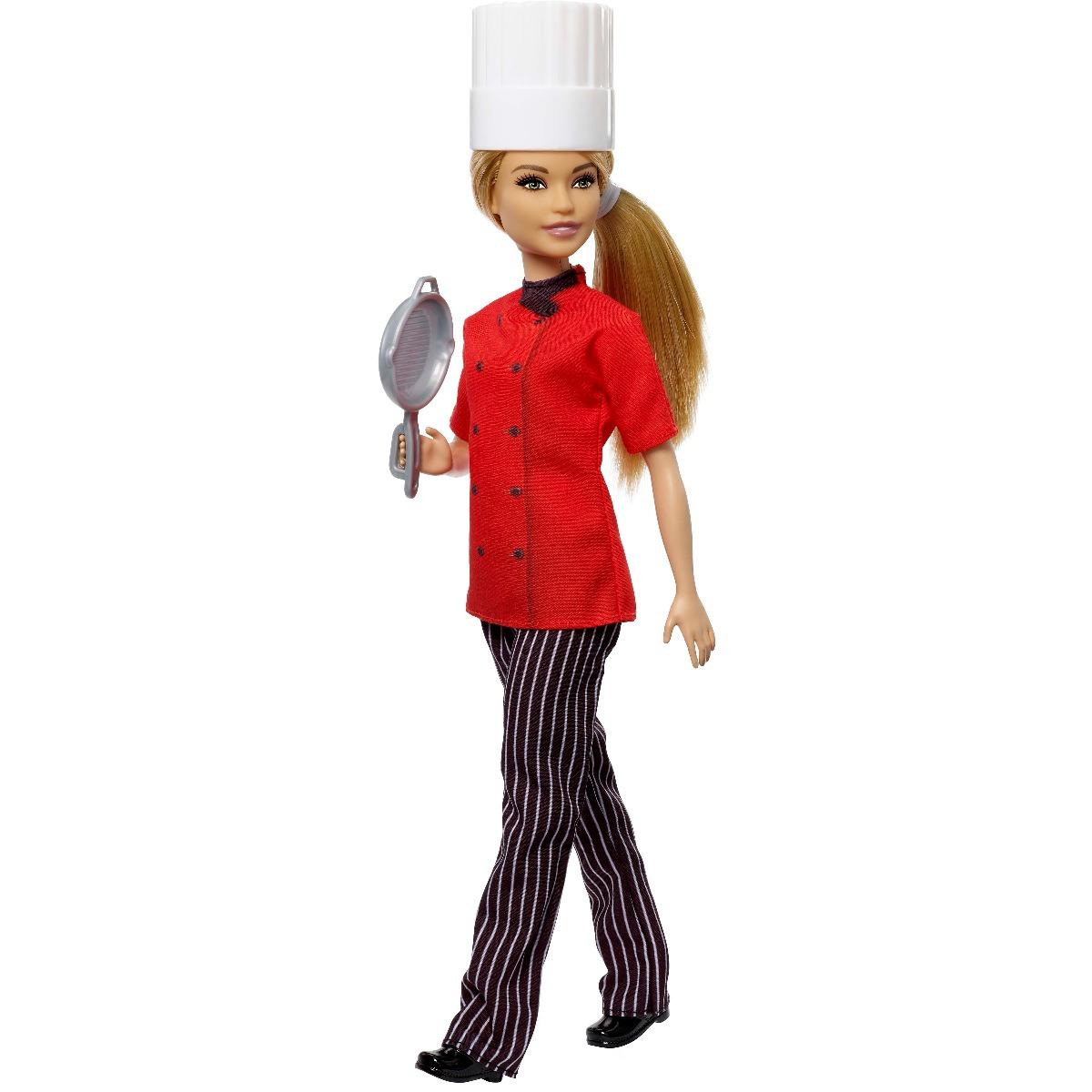 Papusa Barbie Career, Bucatar Sef imagine 2021