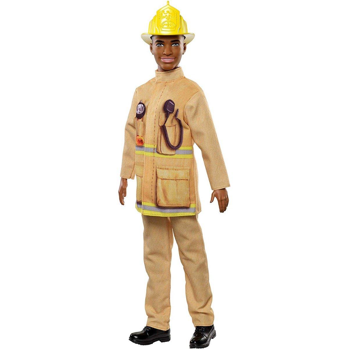 Papusa Barbie - Ken pompier, FXP05 imagine 2021