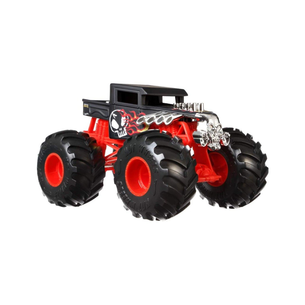 Masinuta Hot Wheels Monster Truck, 1:24, Bone Shaker, GCX15