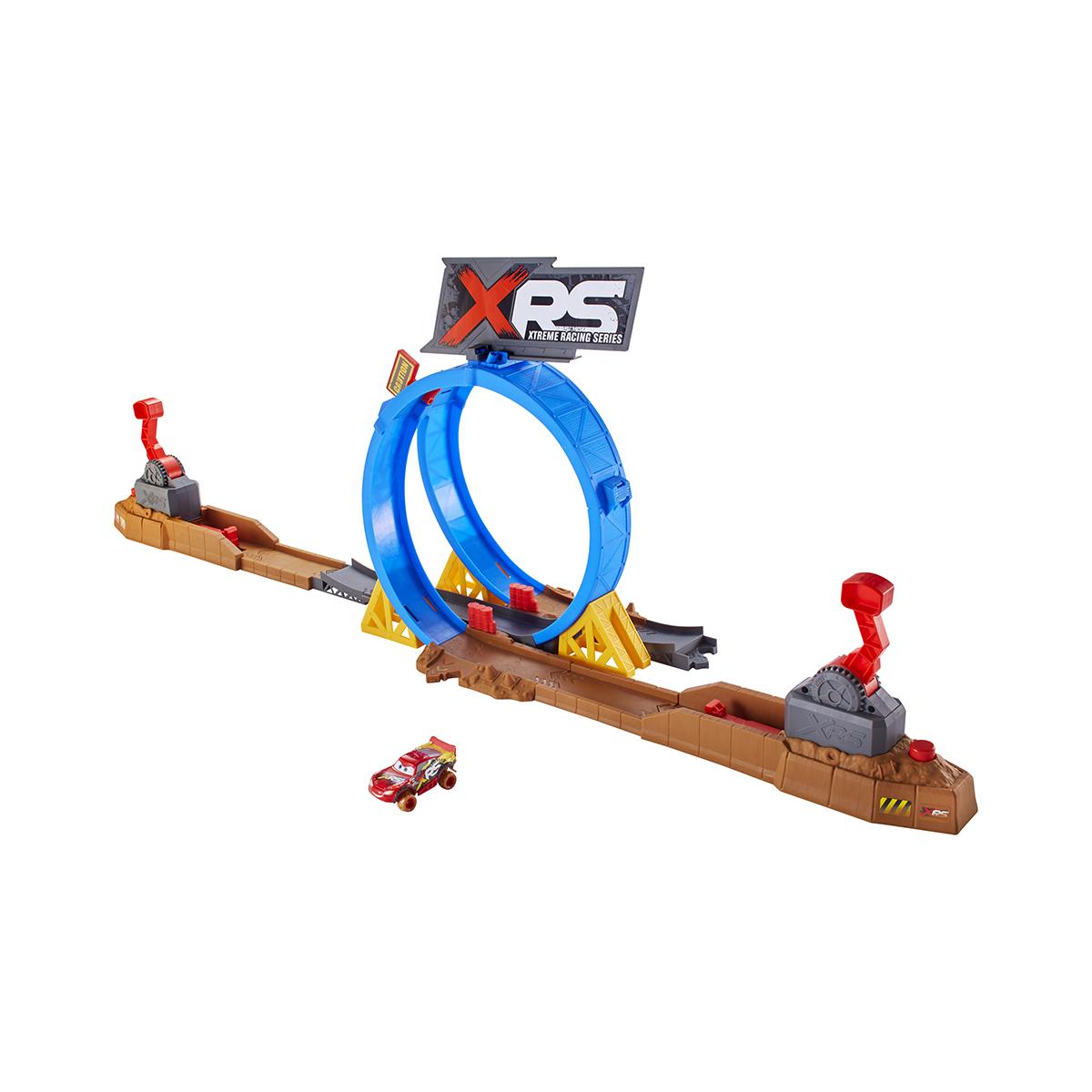 Set de joaca Disney Cars, Provocarea de pe pista XRS