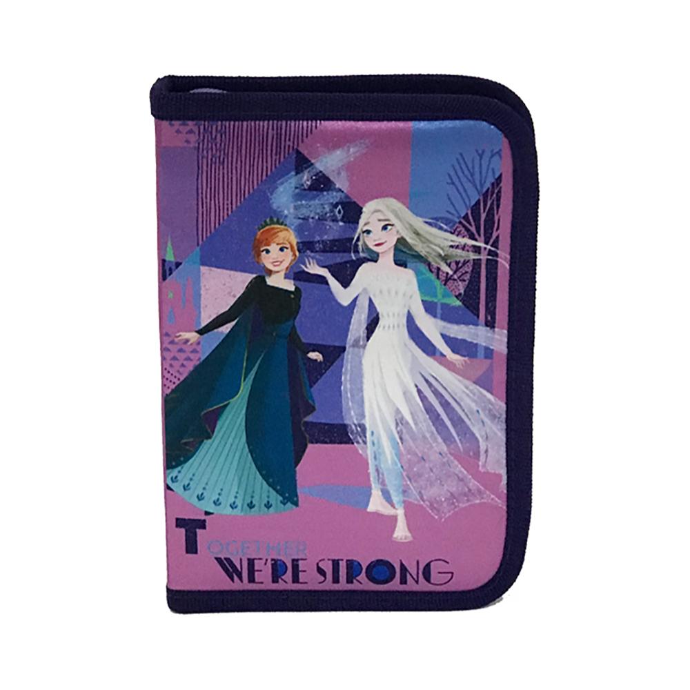 Penar cu fermoar si doua flapsuri Disney Frozen
