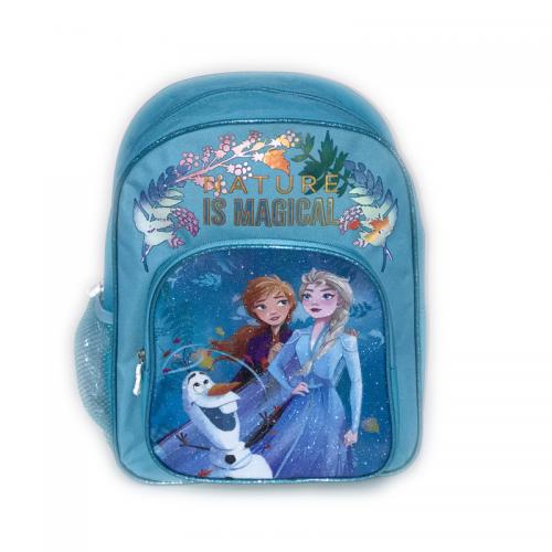 Ghiozdan cu 2 compartimente Disney Frozen