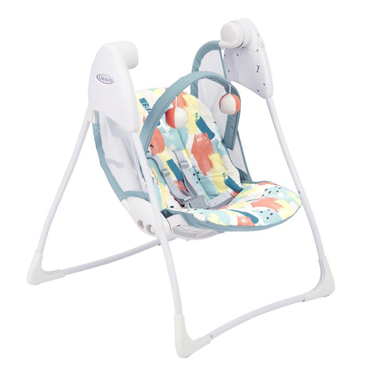 Balansoar bebe Graco Baby Delight Paintbox imagine
