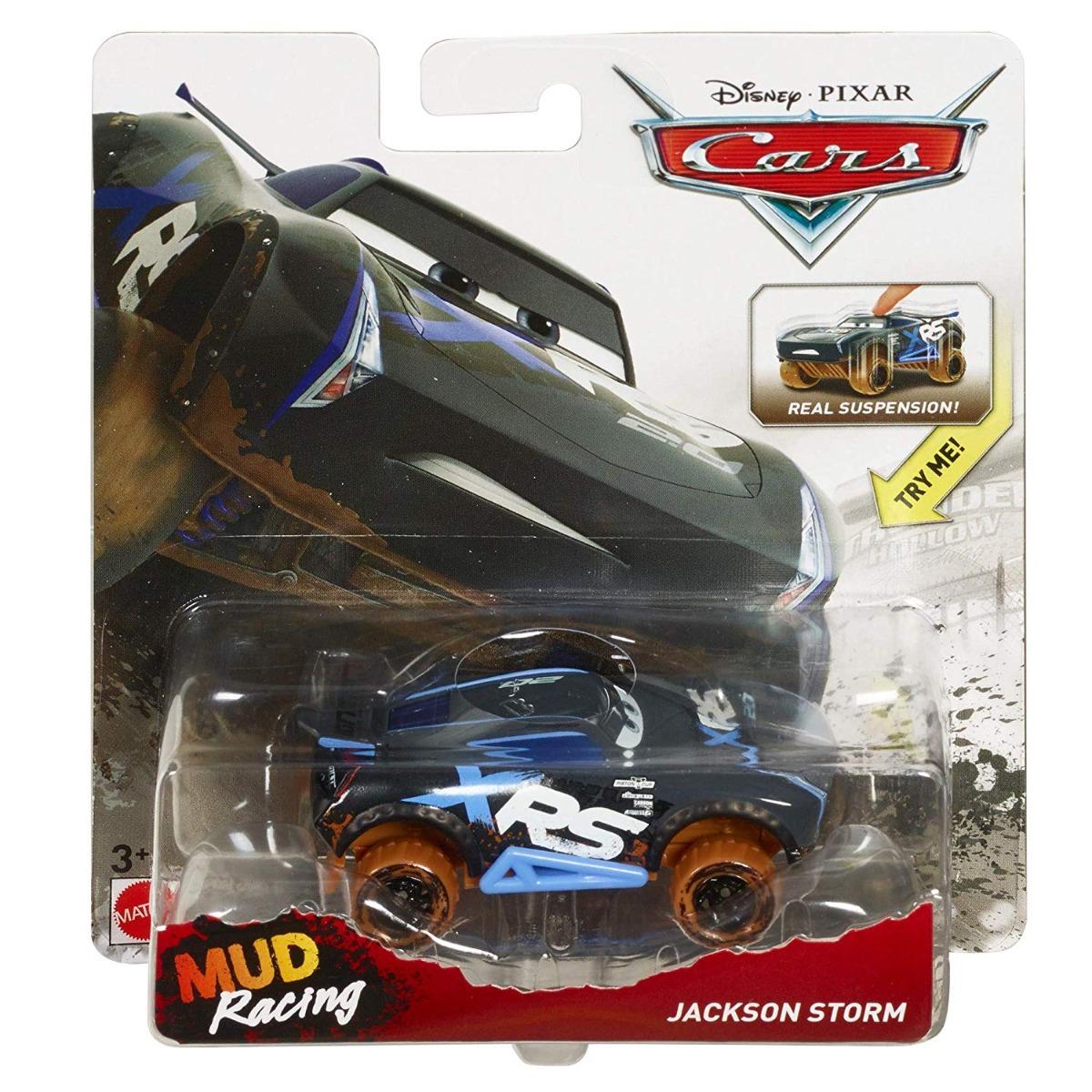Masinuta Disney Cars XRS Mud Racing, Jackson Storm, GBJ38