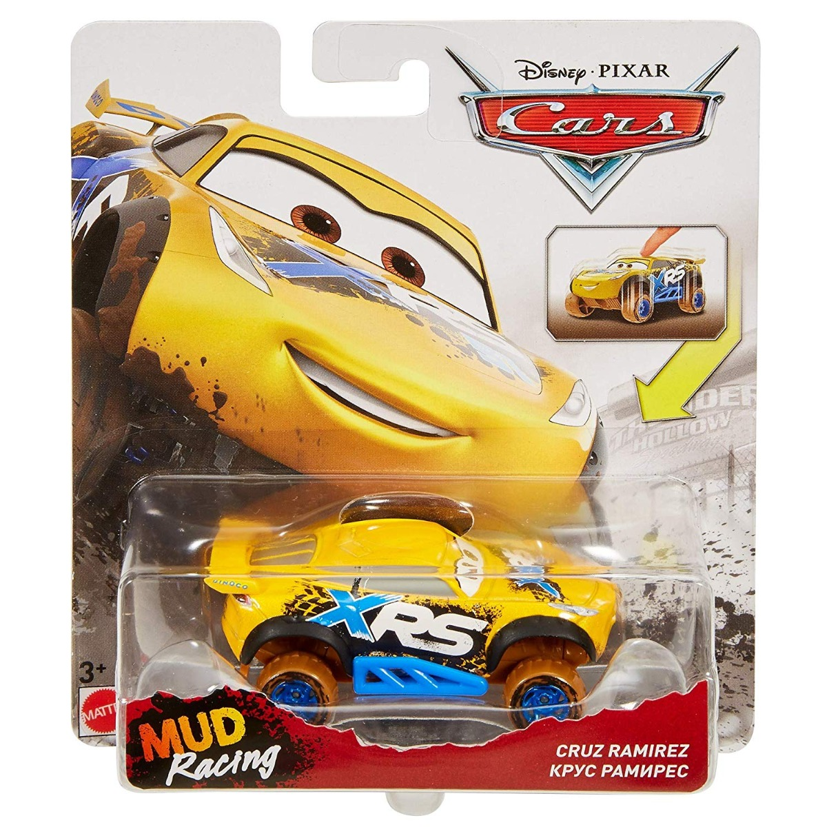Masinuta Disney Cars XRS Mud Racing, Cruz Ramirez, GBJ37