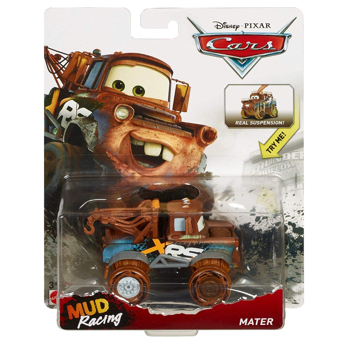 Masinuta Disney Cars XRS Mud Racing Maxi, Mater GBJ47