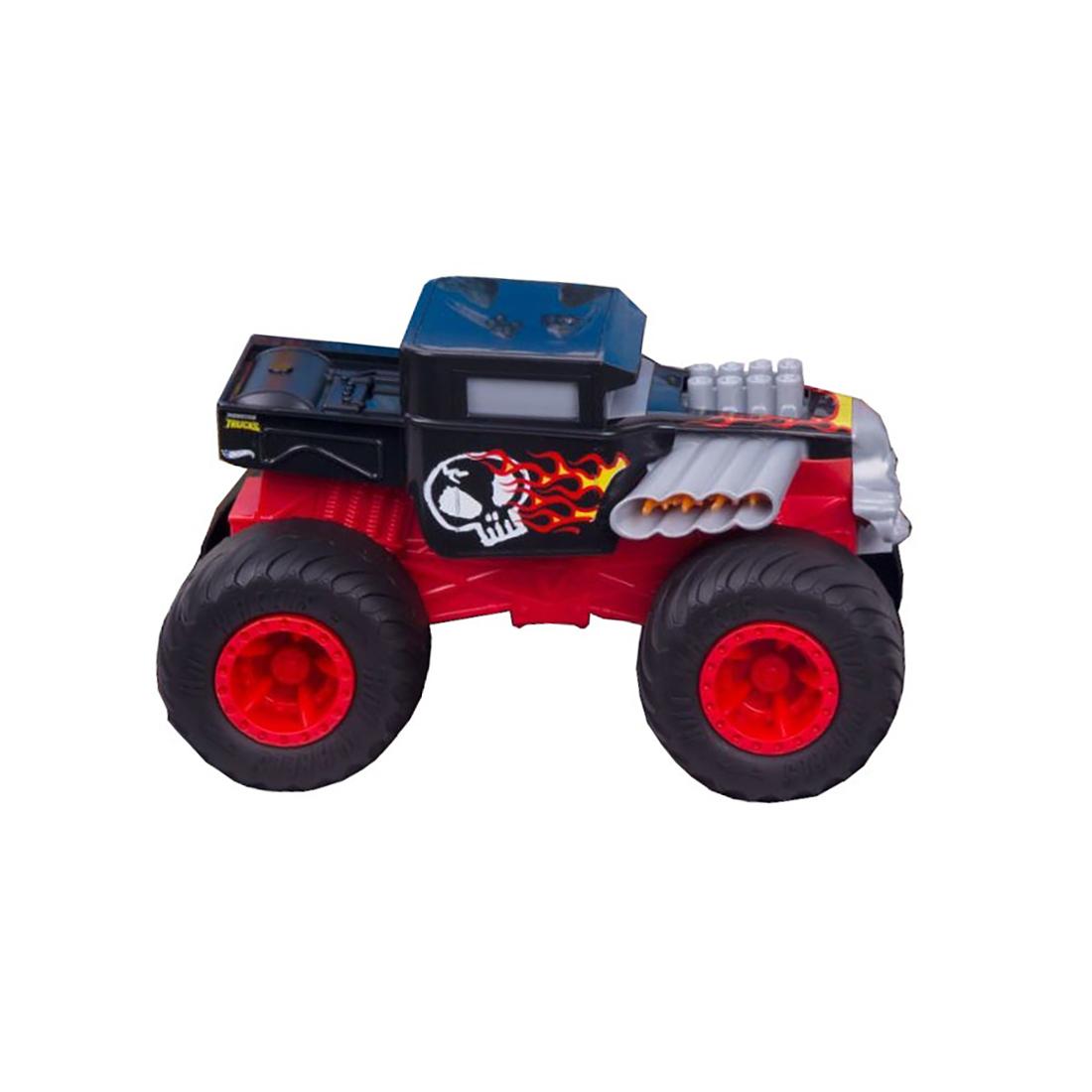 Masinuta cu functii Hot Wheels, Bone Shaker, 1:24, GCG07