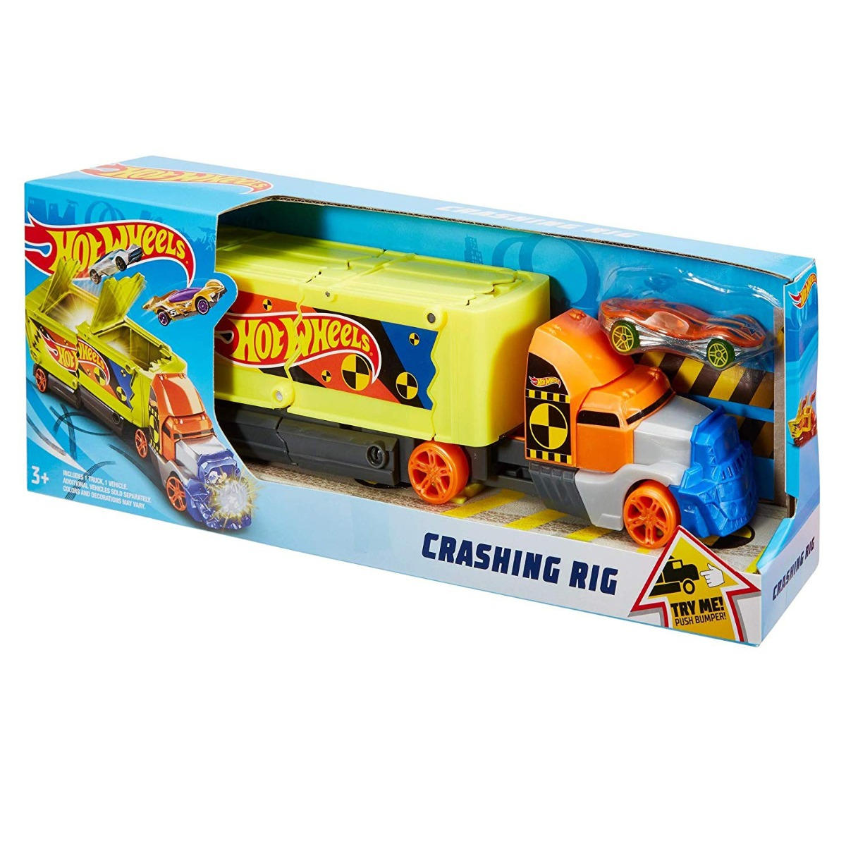 Set de joaca Hot Wheels Camion Coliziune