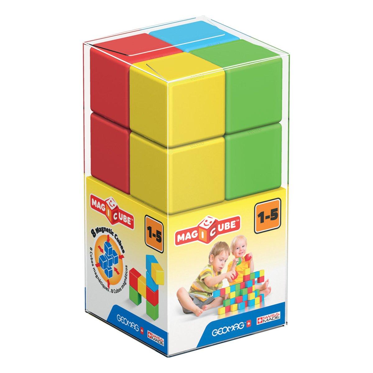 Joc de constructie magnetic Magic Cube, 8 piese