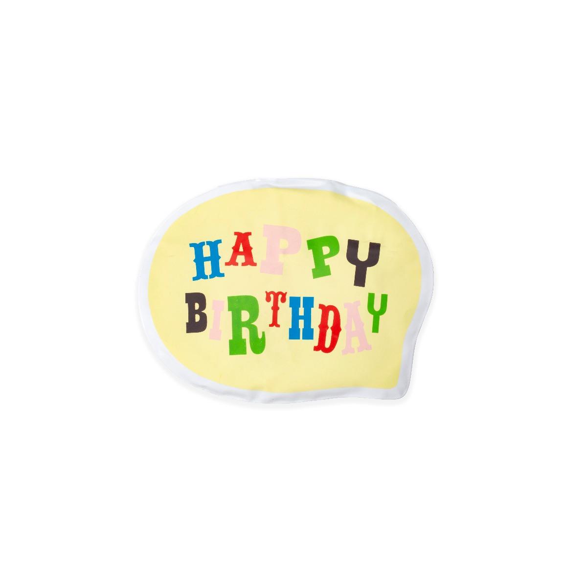"Balon surpriza cu mesaj ""Happy Birthday"" imagine"
