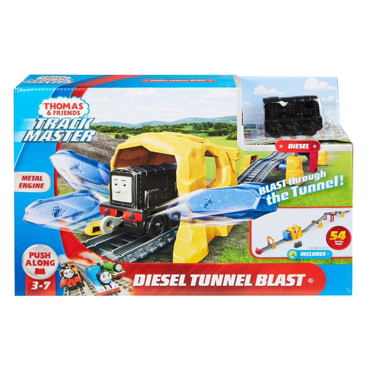 Set de joaca Thomas and Friends, Explozie in tunel