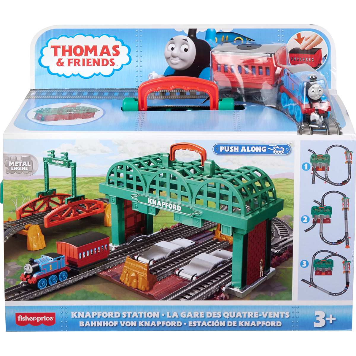 Set de joaca motorizat Thomas and Friends, Gara Knapford