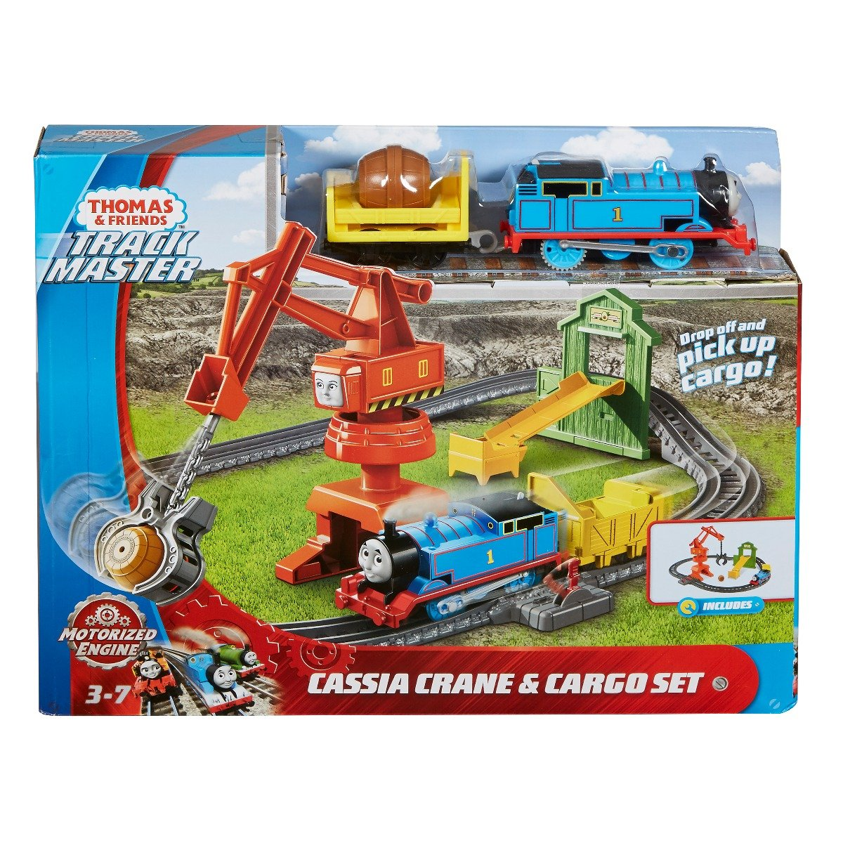 Set de joaca motorizat Thomas and Friends, Macaraua Cassia