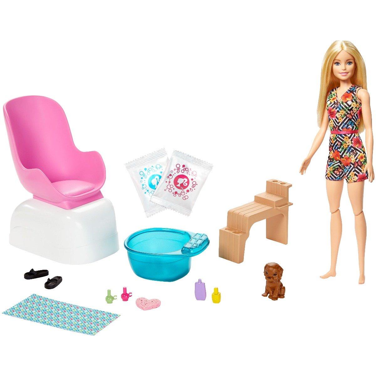 Set de joaca Barbie, Salonul de manichiura