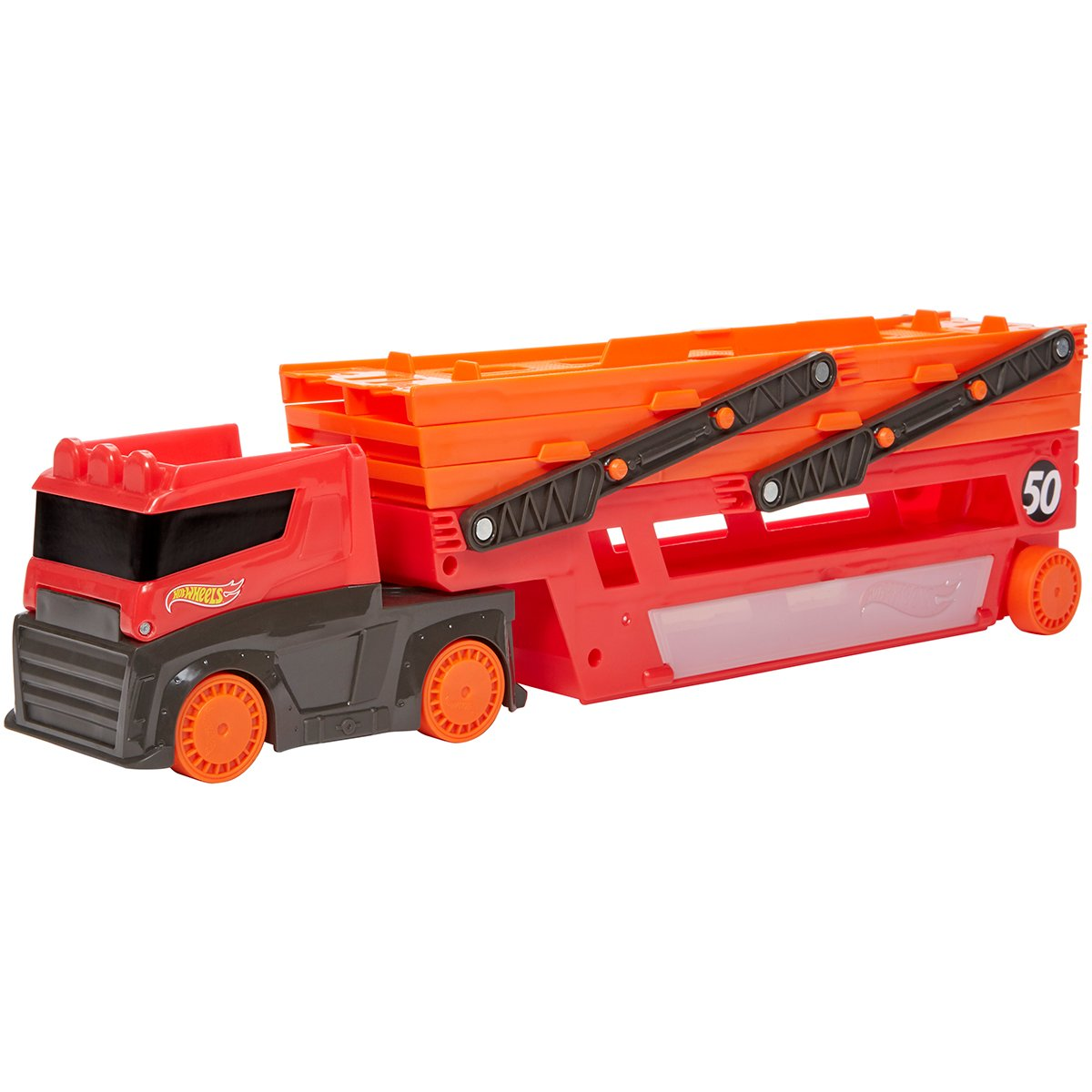 Mega Transportator de masini Hot Wheels, GHR48
