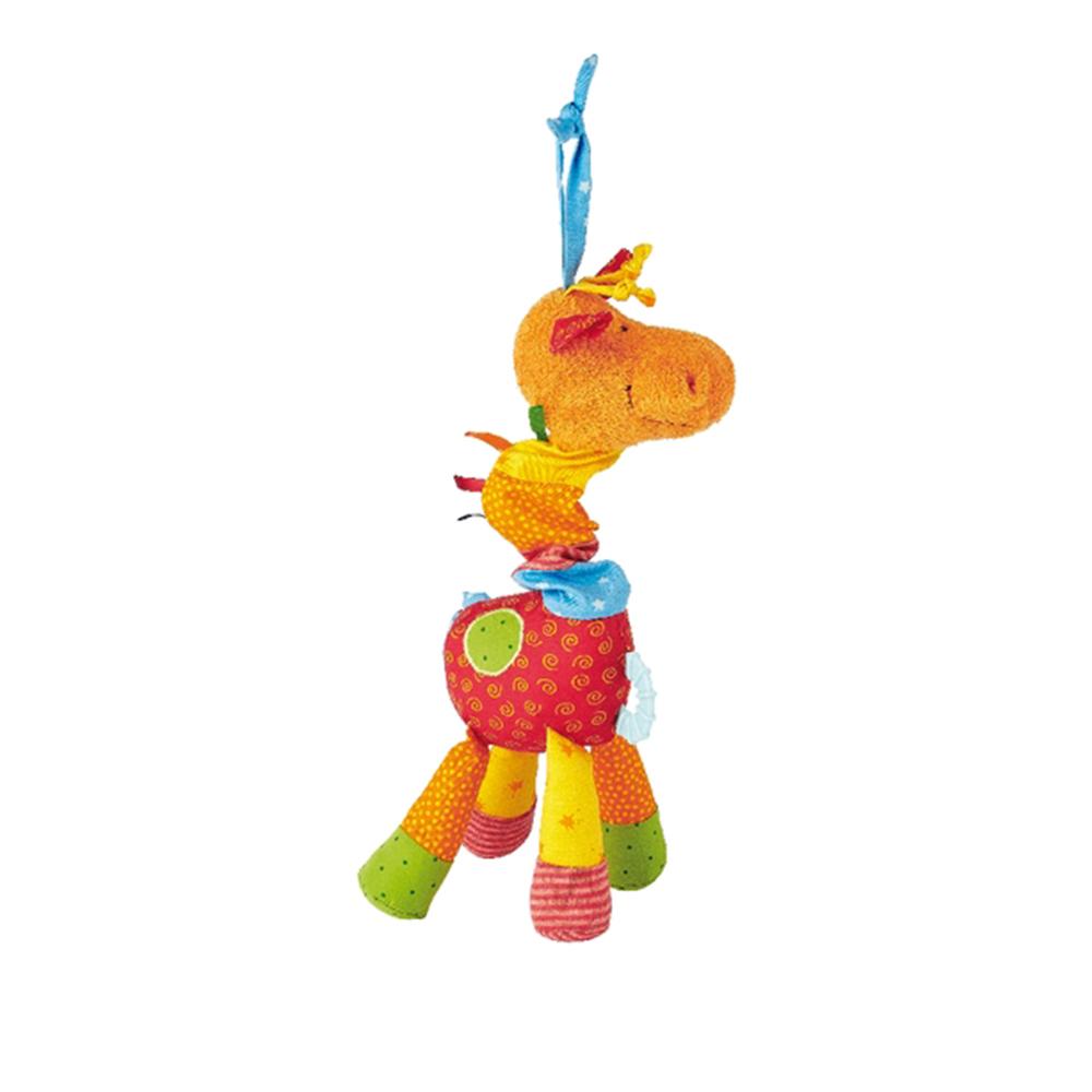 jucarie de plus cu activitati - girafa