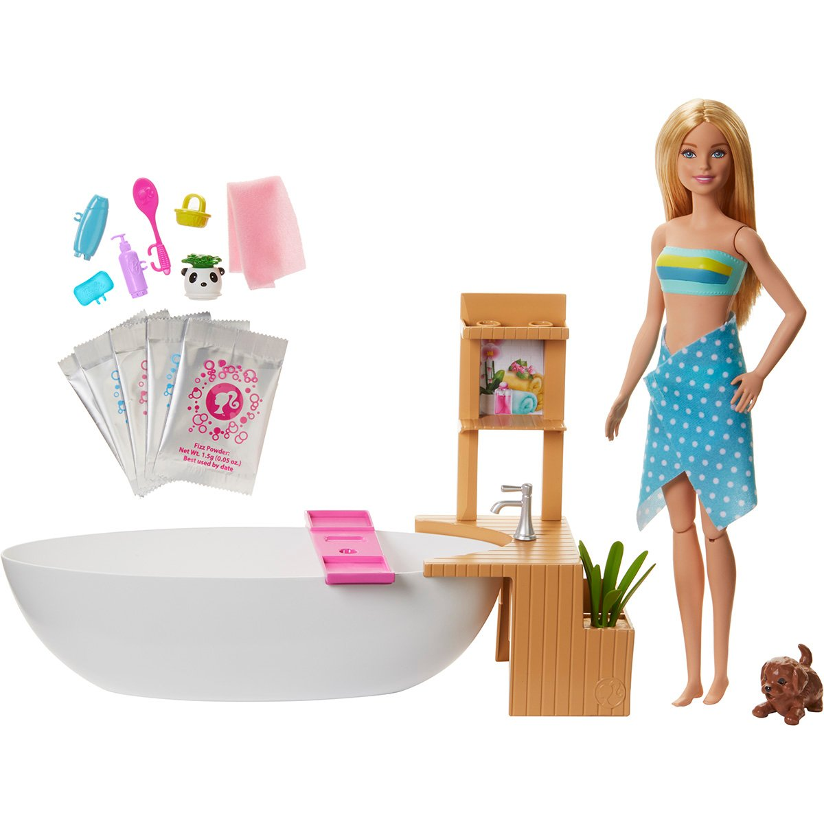 Set de joaca Barbie, Relaxarea in cada