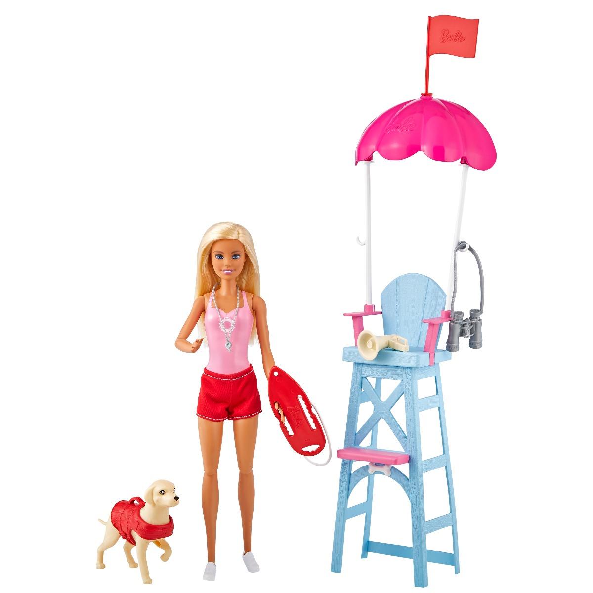 Set papusa Barbie Career, Salvamar, GTX69