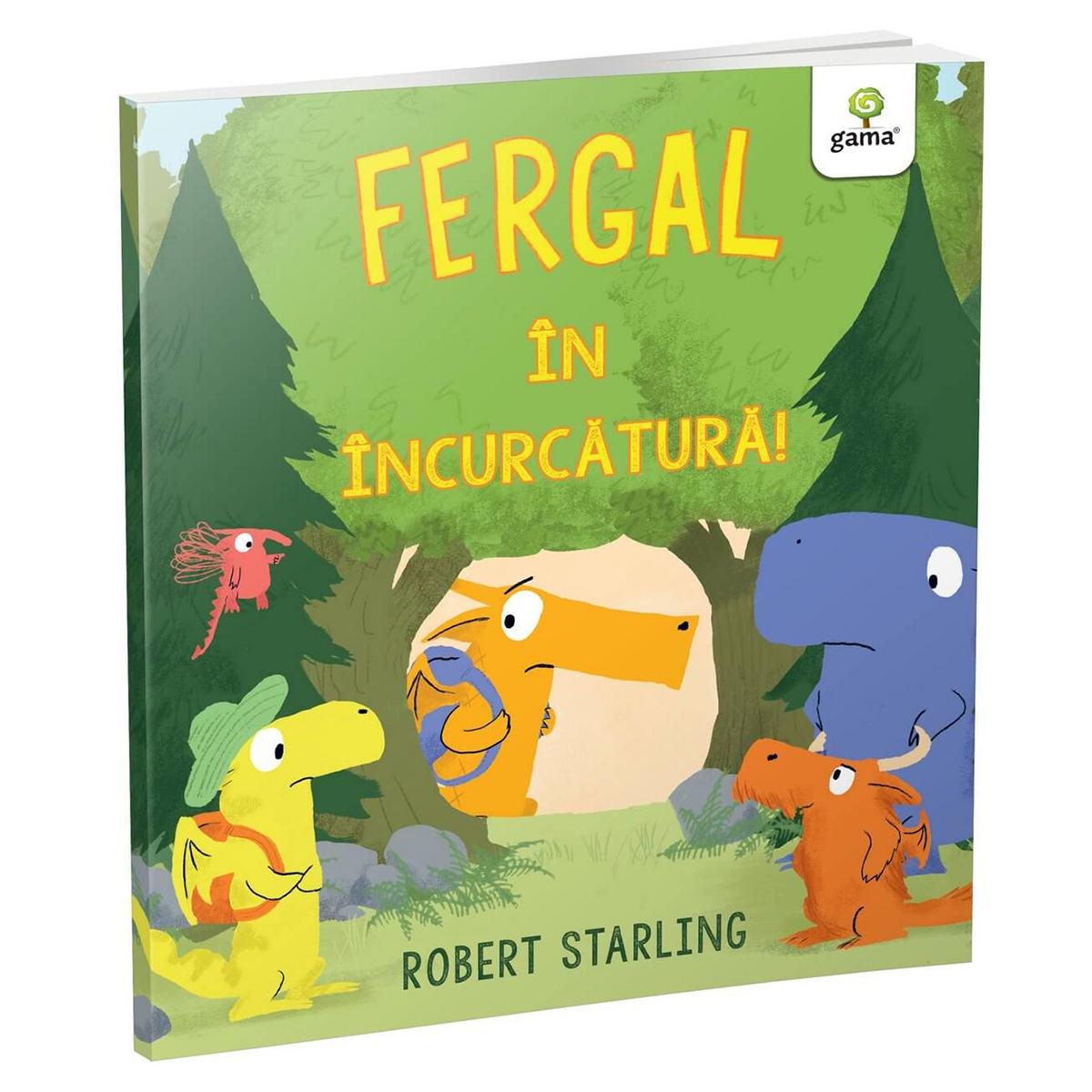 Carte Editura Gama, Fergal in incurcatura!