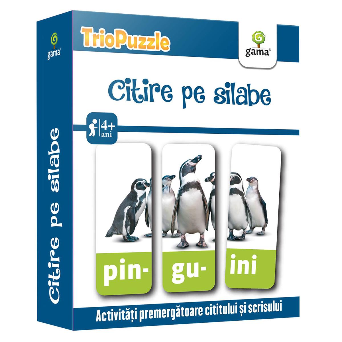 Editura Gama, Triopuzzle, Citire pe silabe