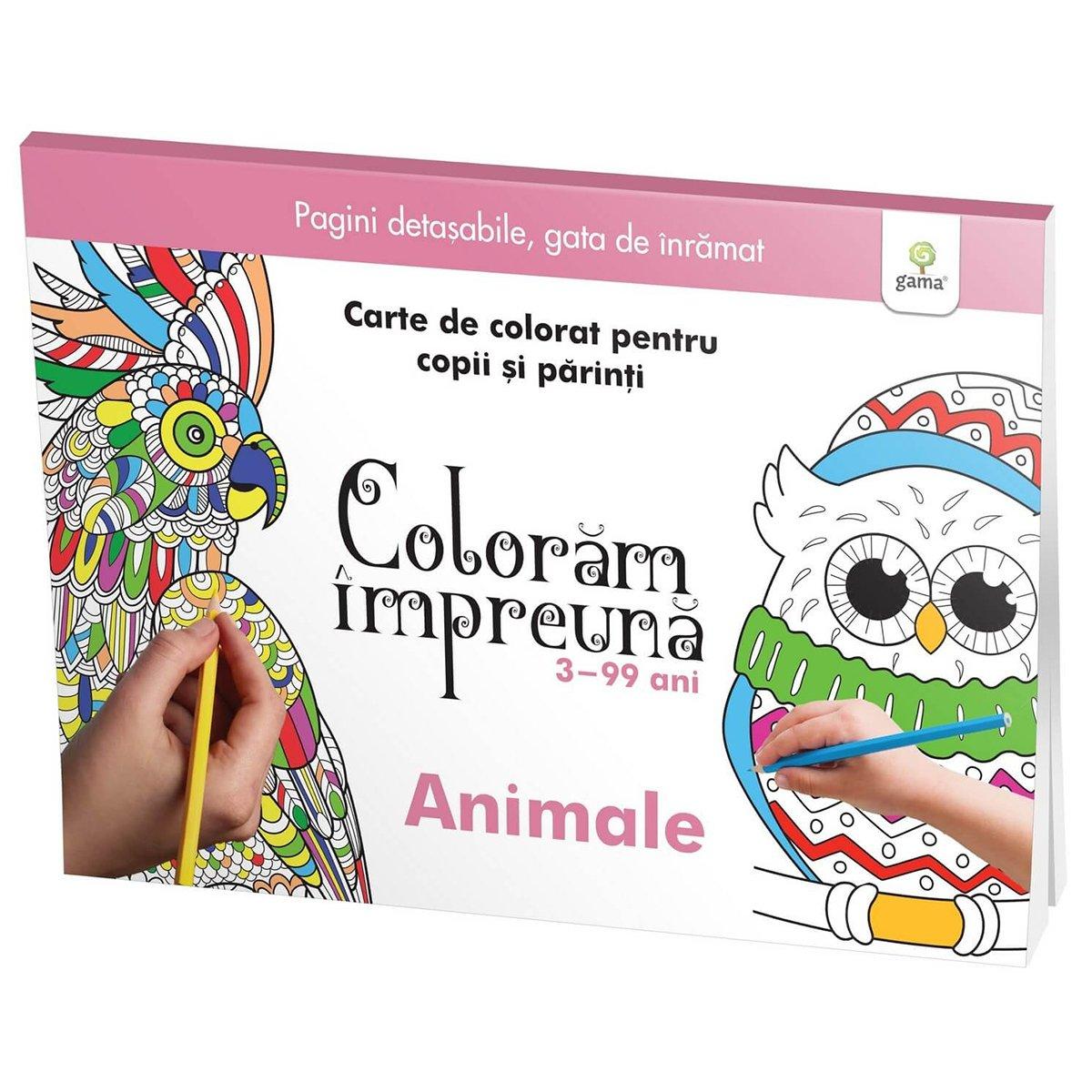 Carte Editura Gama, Coloram impreuna, Animale