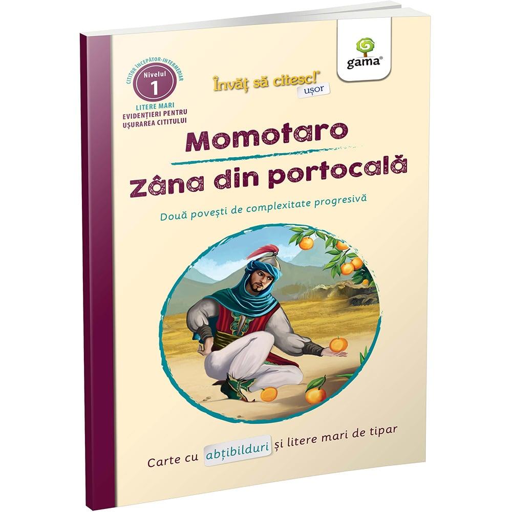Invat sa citesc usor, Momotaro, Zana din portocala
