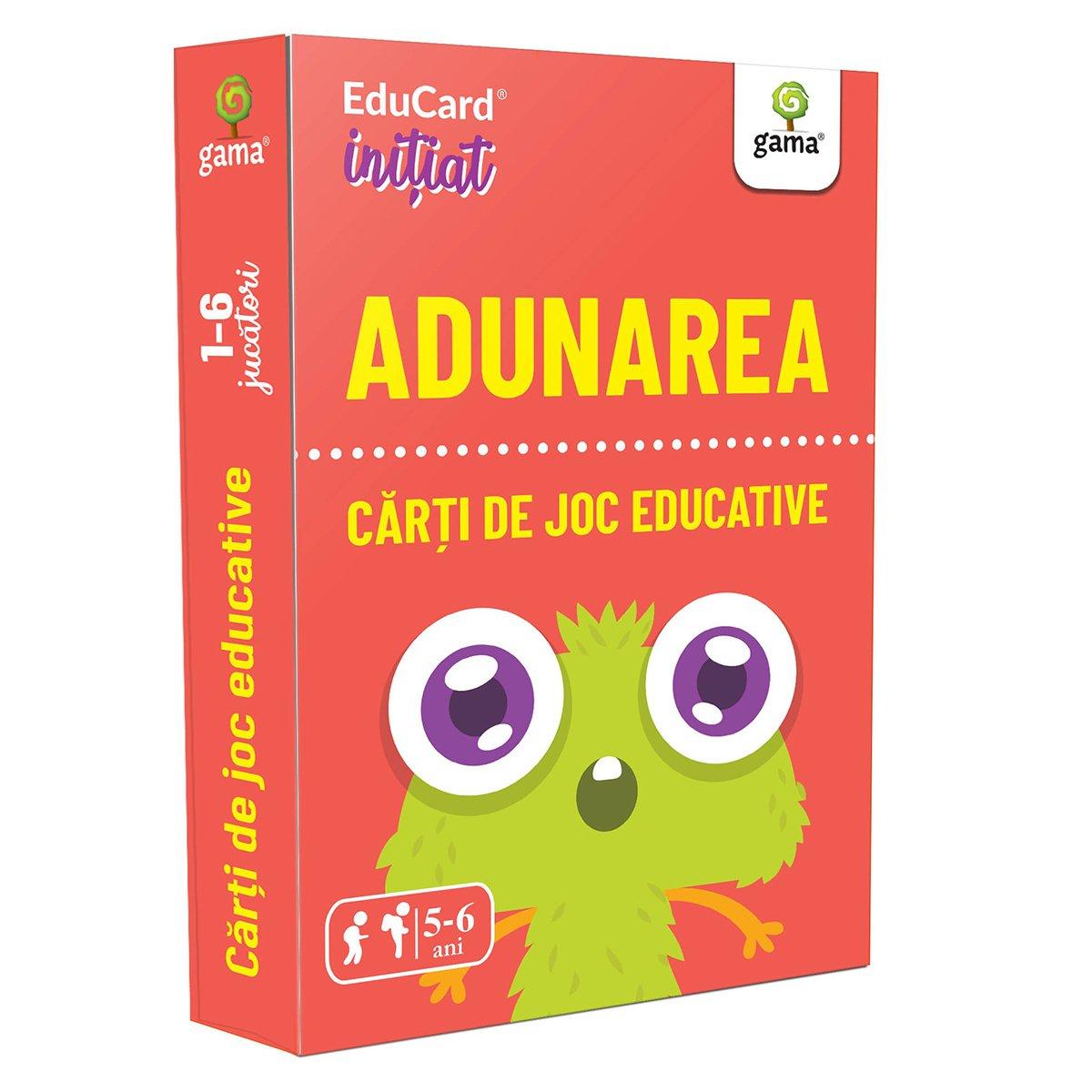 Editura Gama, Carti de joc educative Initiat, Adunarea