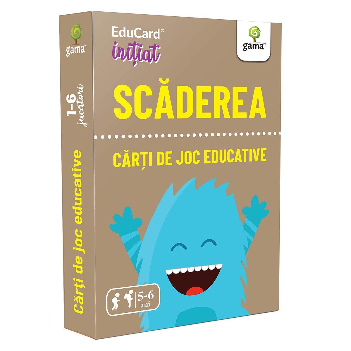 Editura Gama, Carti de joc educative Initiat. Scaderea