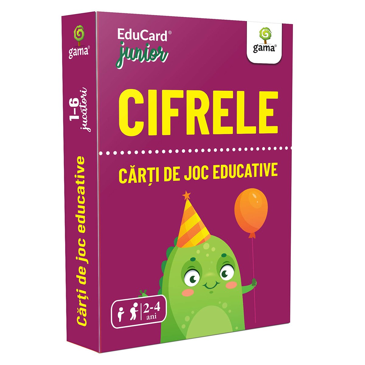 Editura Gama, Carti de joc educative Junior, Cifrele