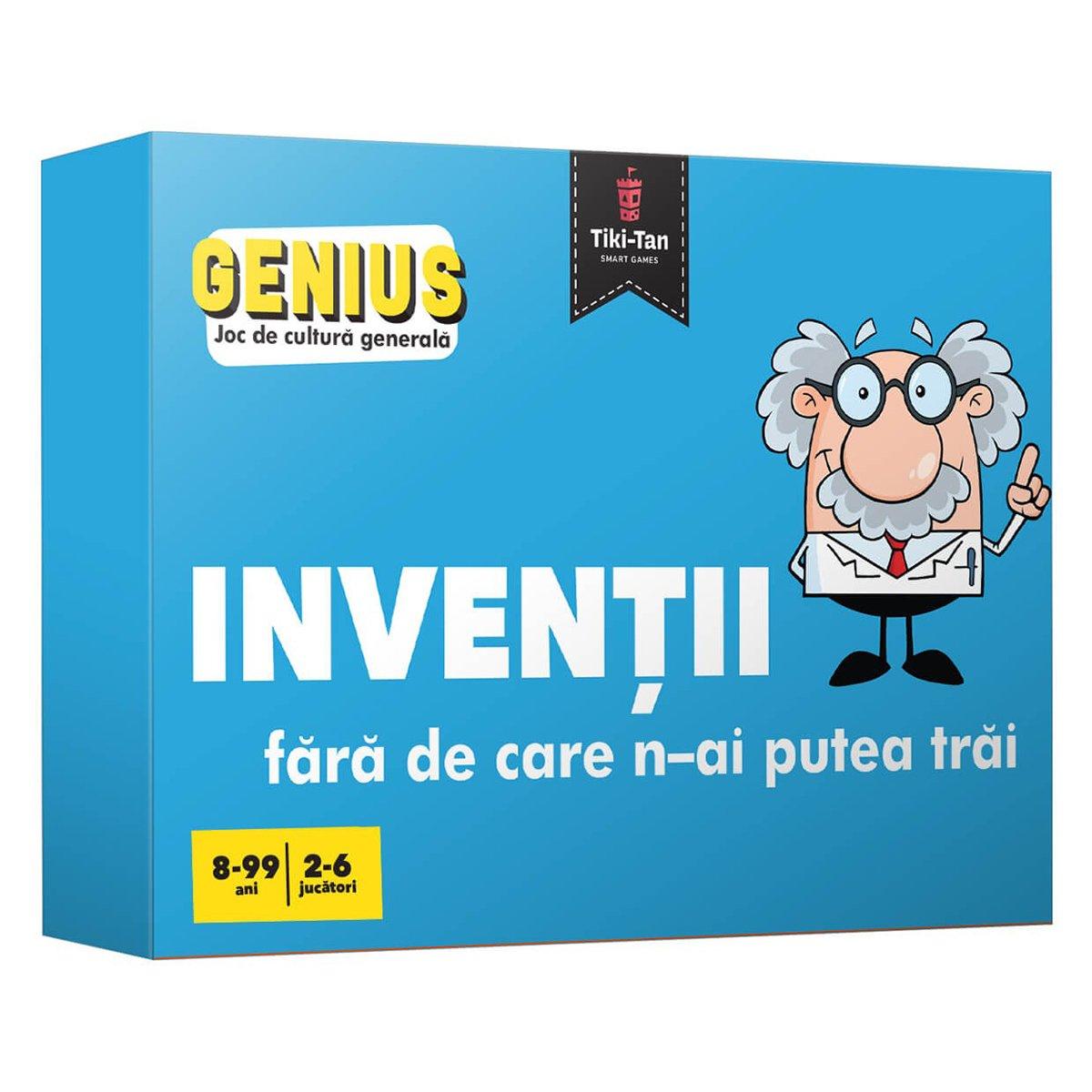 Editura Gama, Genius, Inventii fara de care n-ai putea trai