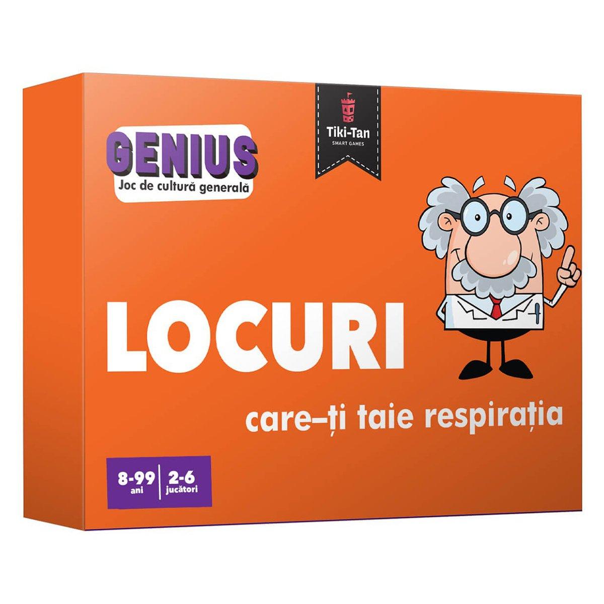 Editura Gama, Genius, Locuri care-ti taie respiratia