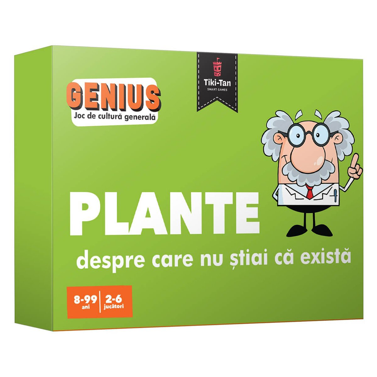 Editura Gama, Genius. Plante despre care nu stiai ca exista