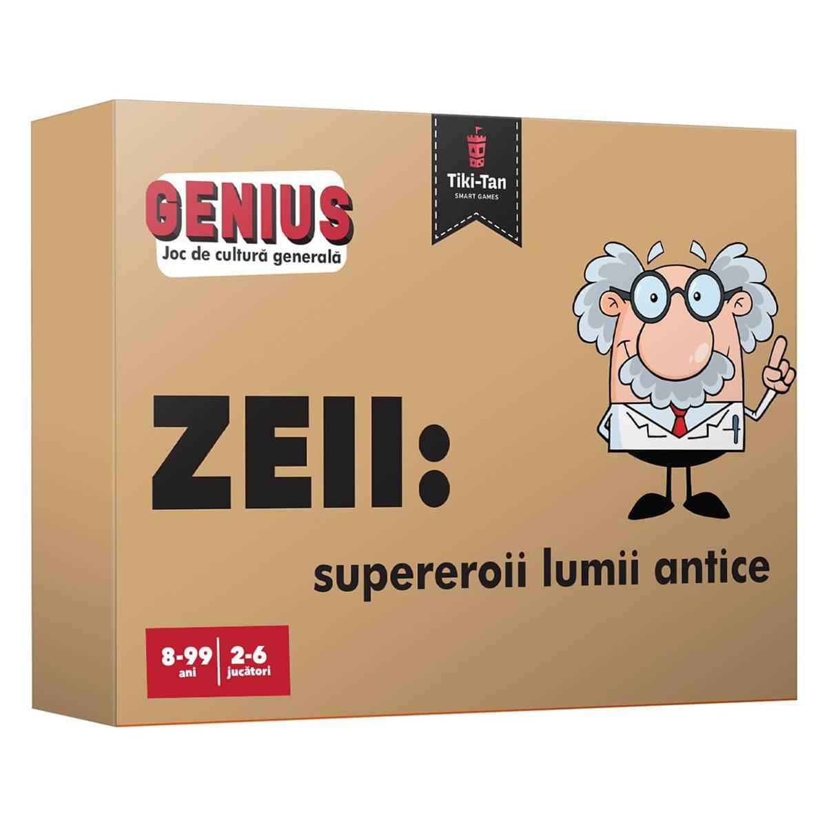 Editura Gama, Genius, Zeii: supereroii lumii antice