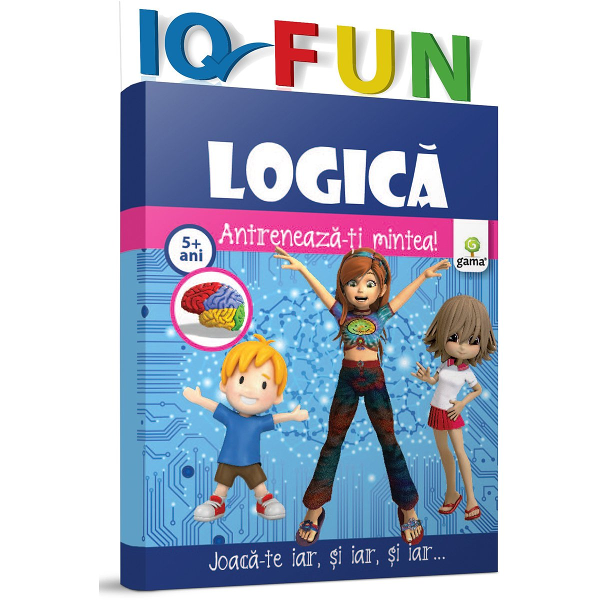 Editura Gama, IQ FUN Logica