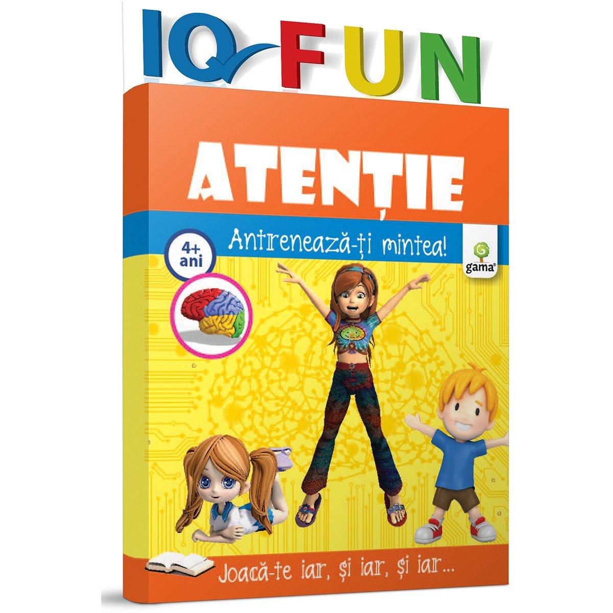 Editura Gama, IQ FUN Atentie