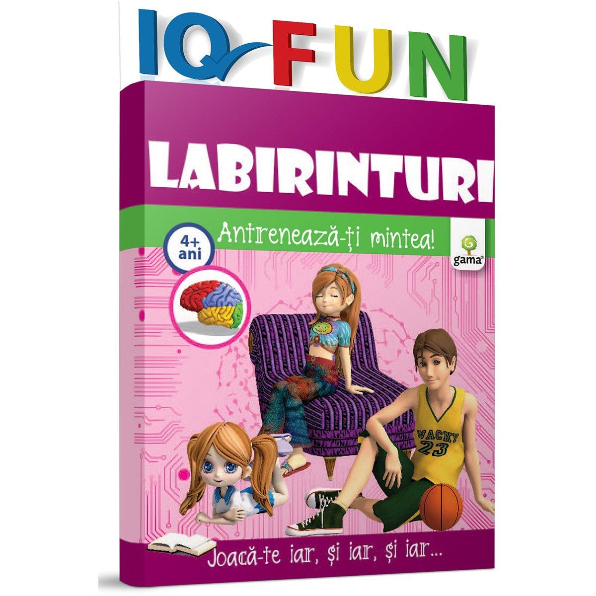 Editura Gama, IQ FUN Labirinturi