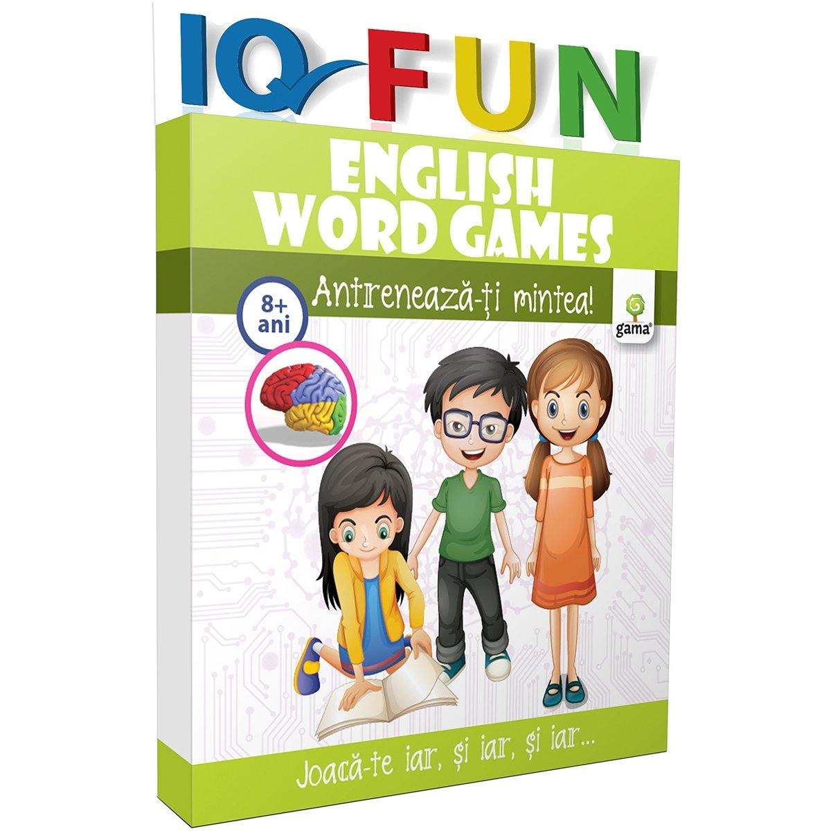 Editura Gama, IQ FUN English Words Games
