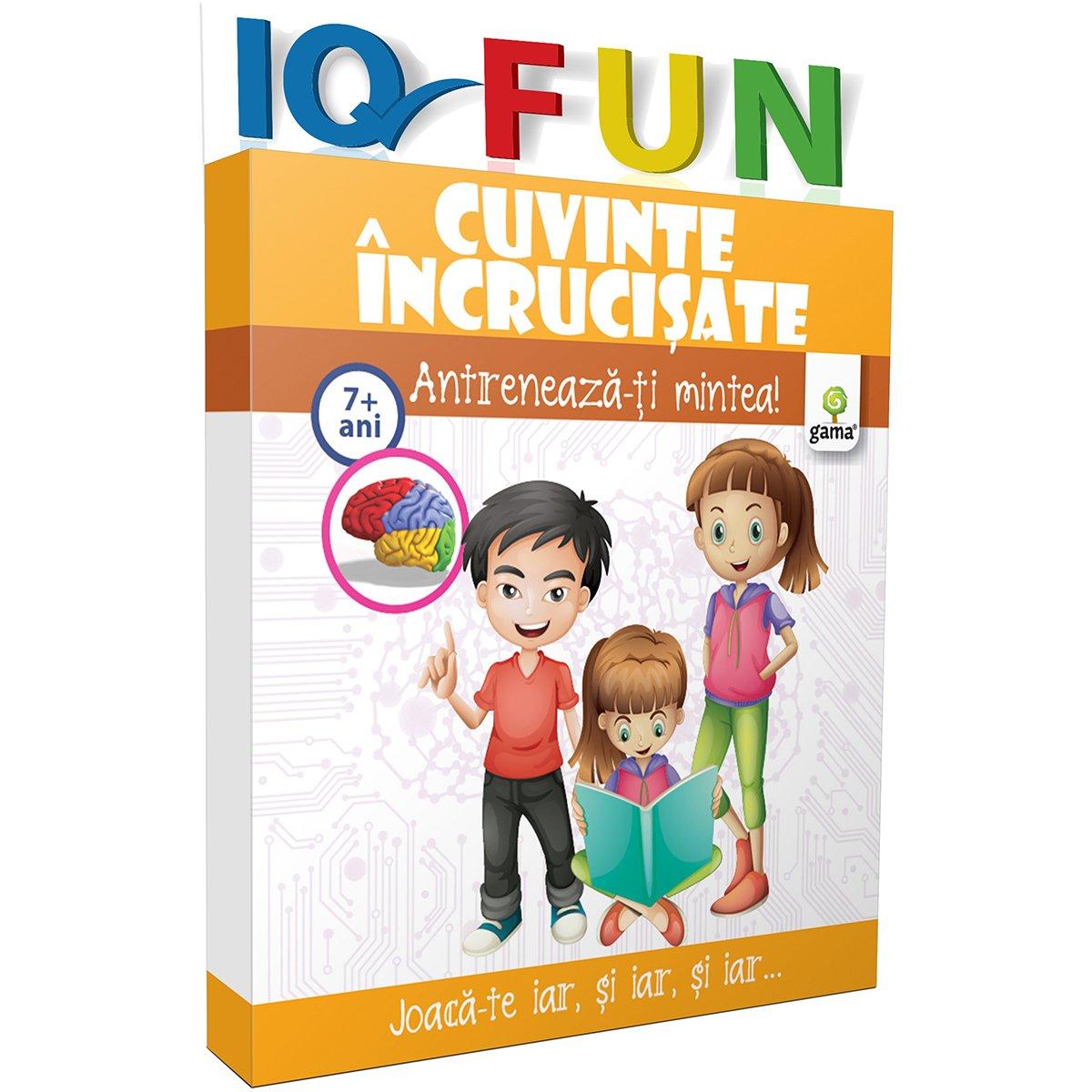 Editura Gama, IQ FUN Cuvinte incrucisate