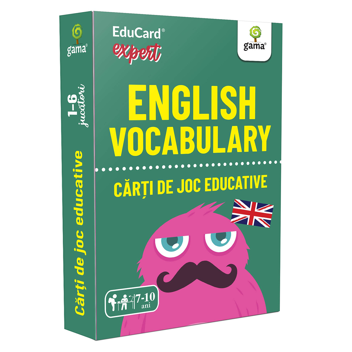 Editura Gama, Carti de joc educative Expert, English Vocabulary
