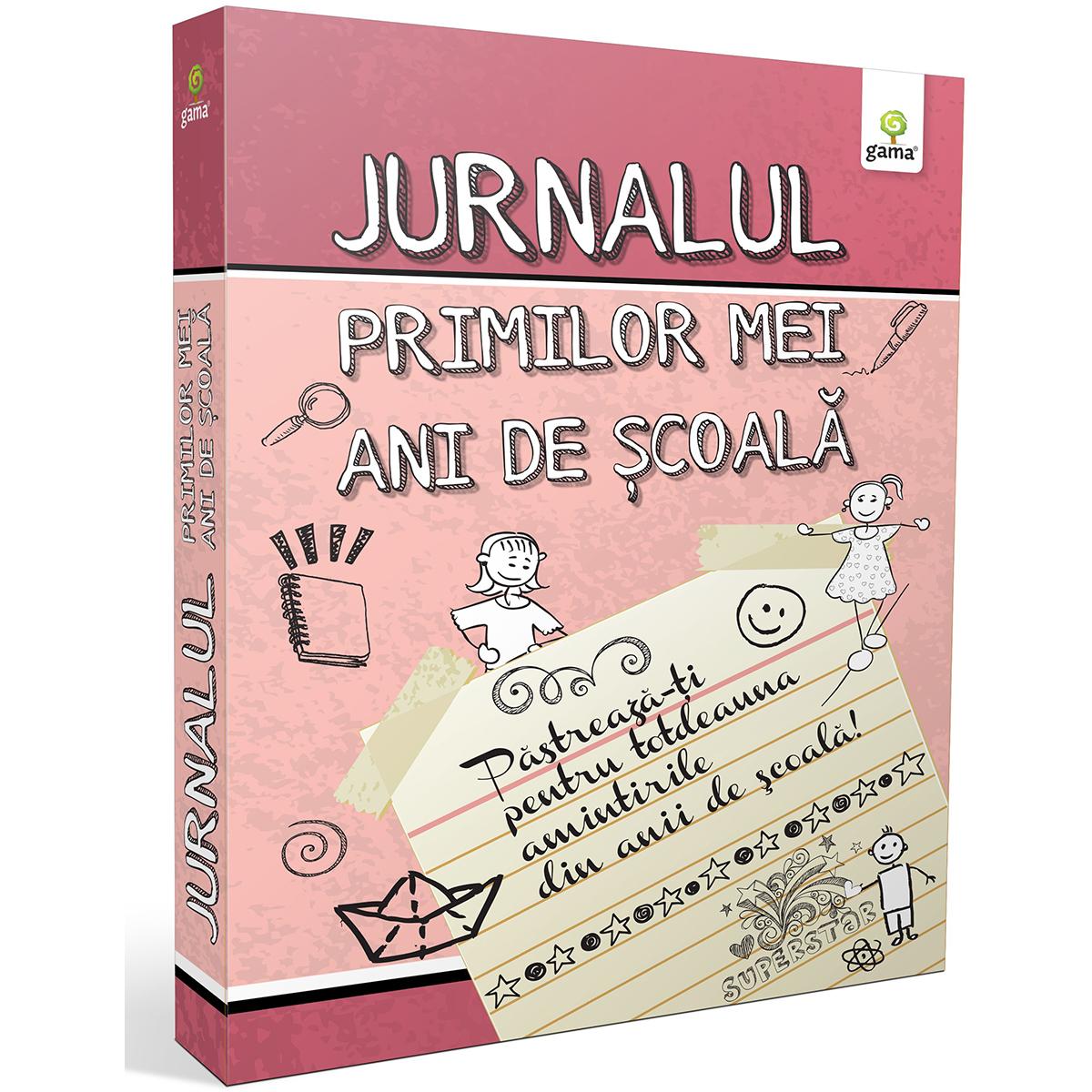 Editura Gama, Jurnalul primilor mei ani de scoala, Roz