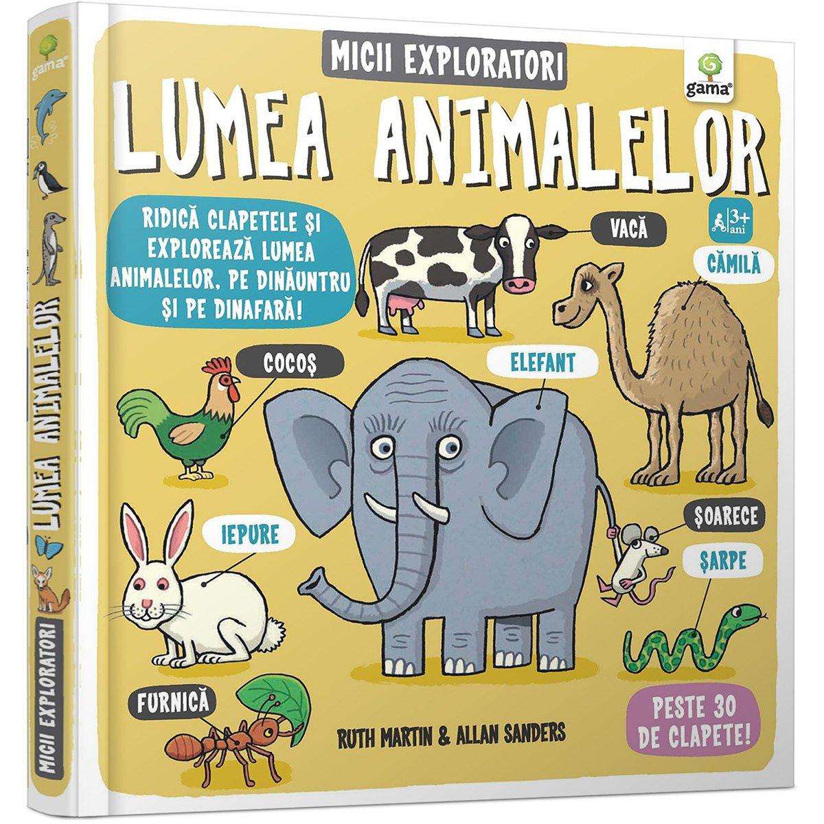 Carte Editura Gama, Micii exploratori, Lumea animalelor