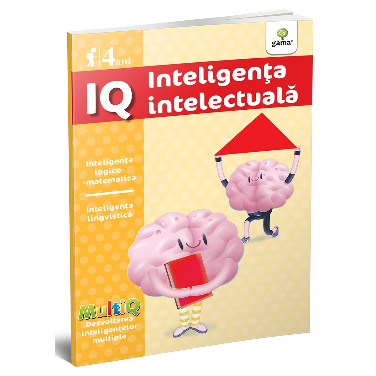 Carte Editura Gama, IQ 4 ani, MultiQ