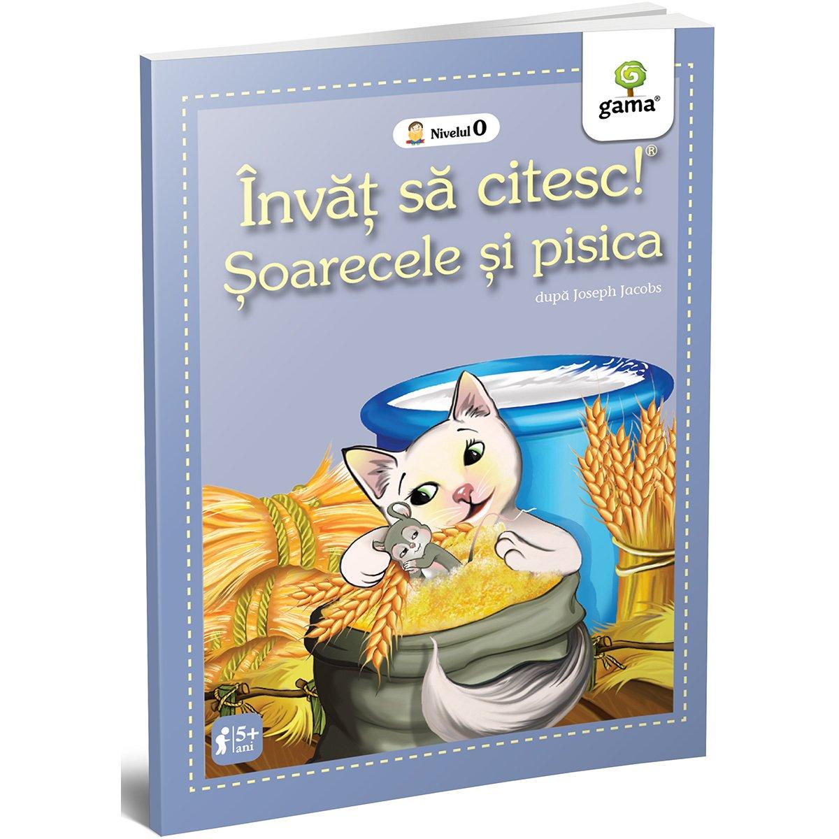 Carte Editura Gama, Soarecele si pisica, Invat sa citesc! Nivelul 0